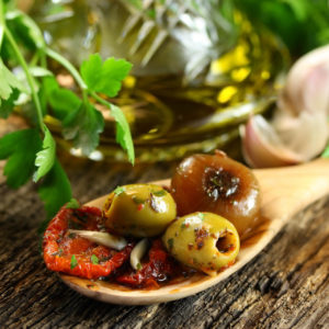Antipasti, olives & condiments